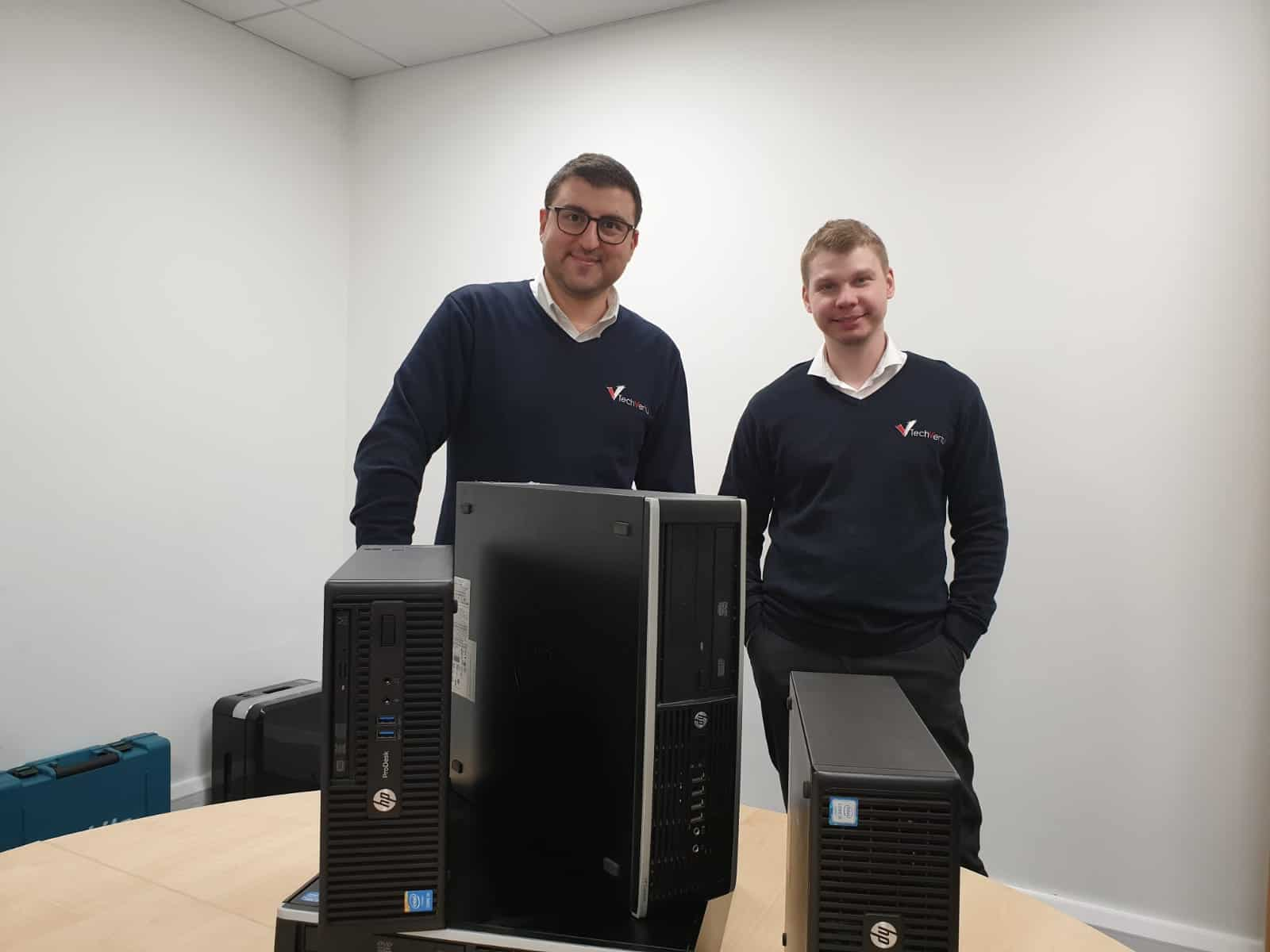 TechVertu donates 35 computers to local community