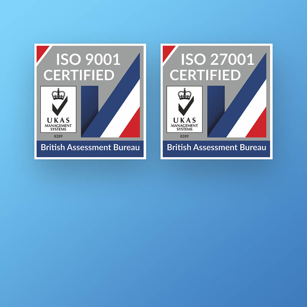 TechVertu achieves ISO certification from the British Assessment Bureau